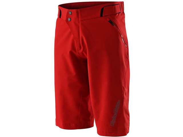 Troy Lee Designs Ruckus Shell Shorts, red